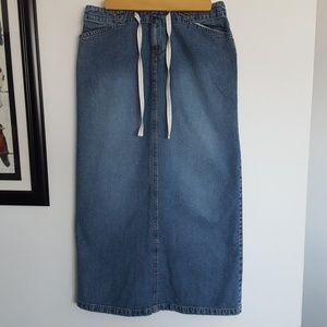 Old Navy Blue Jean Skirt - Sz. 4